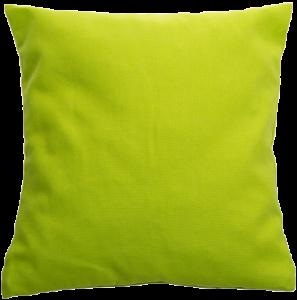 Zirbenholzkissen Limette grün