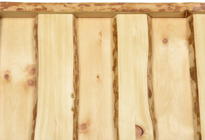 Wandvertäfelung aus Holz1