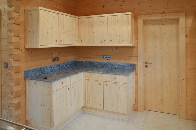 Massivholzküche Stephan1