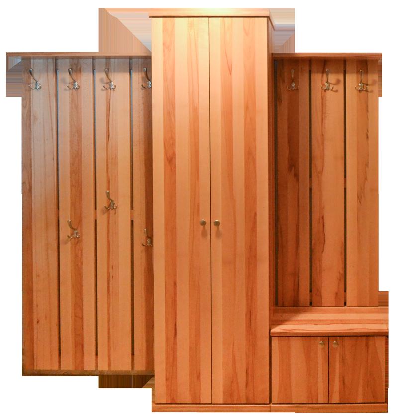 Echtholzgarderobe Kernbuche