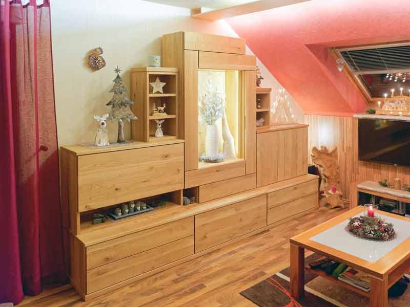 Massivholzwohnzimmer Lenk5