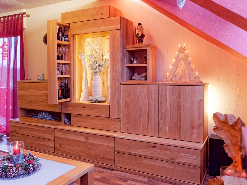 Massivholzwohnzimmer Lenk1