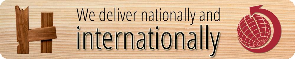 Lieferung national und international